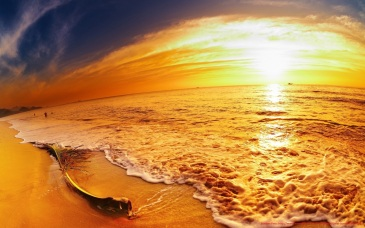 Great-Sunset-Beach-mrwallpaper.com